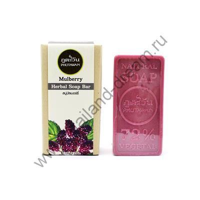 Органическое мыло Ежевика Phutawan